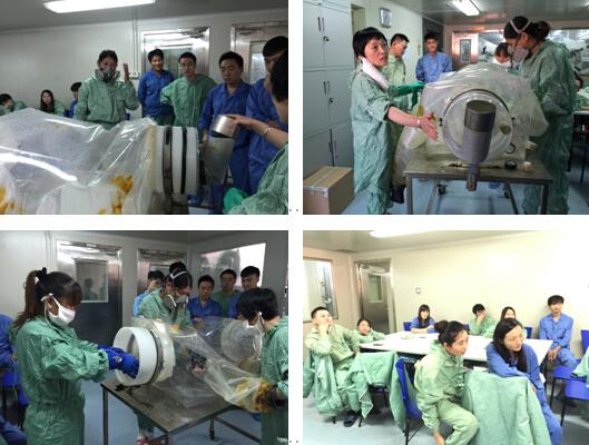 资源部隔离器消毒培训-上海斯莱克实验动物有限公司
